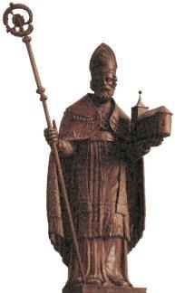 Sint Willibrordus met Kerk