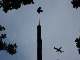 vogel bevolkingschieten